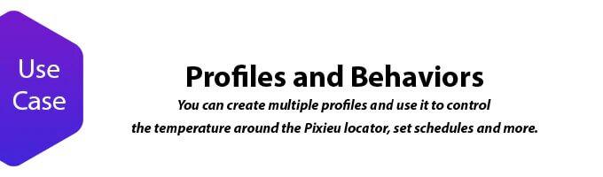 Pixieu profile behaviors